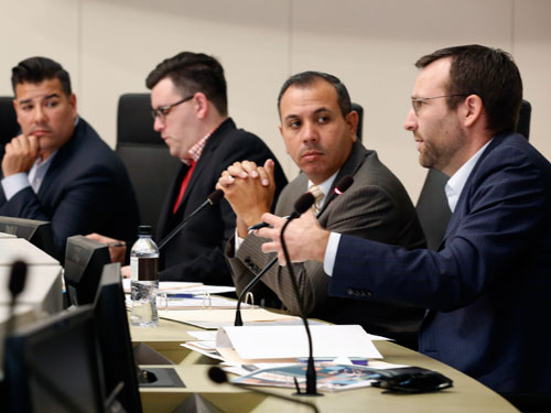 """Keeping California Ports Competitive: Trucking"" hearing, November 4, 2015"